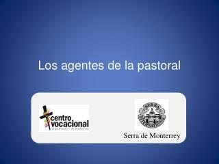 Los agentes de la pastoral