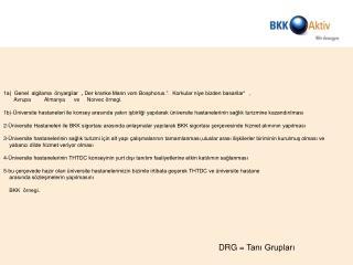 Almanya da DRG-Sistemi