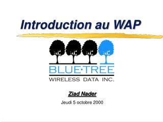 Introduction au WAP