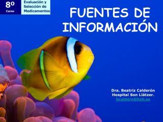 Dra. Beatriz Calder n Hospital Son Ll tzer. bcalderohsll.es