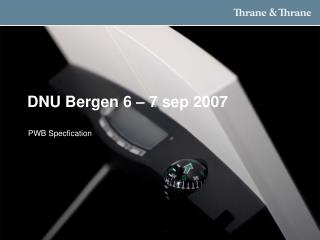 DNU Bergen 6   7 sep 2007