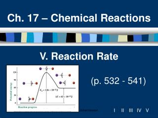 V. Reaction Rate       p. 532 - 541