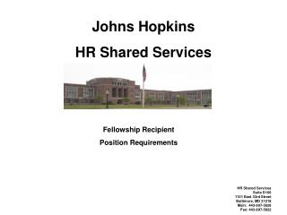 Johns Hopkins HR Shared Services
