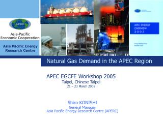 Shiro KONISHI General Manager Asia Pacific Energy Research Centre APERC