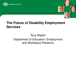 Department of Education Employment  Workplace Relations
