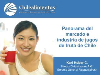Panorama del mercado e industria de jugos de fruta de Chile