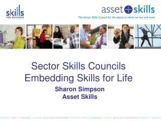 Sector Skills Councils Embedding Skills for Life