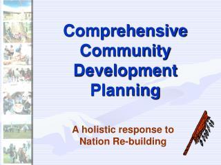 Comprehensive Community Development Planning