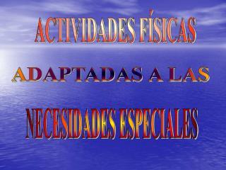 ACTIVIDADES F SICAS