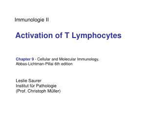 Immunologie II