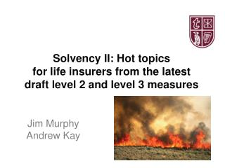 Solvency II: Hot topics  for life insurers from the latest draft level 2 and level 3 measures