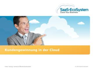 Kundengewinnung in der Cloud