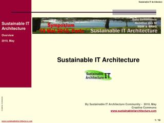 Sustainable IT Architecture