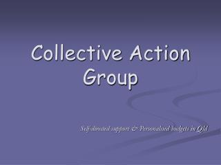 Collective Action Group