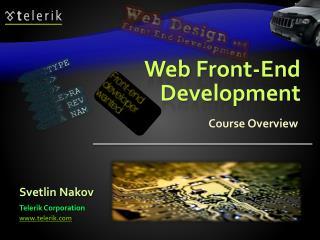Web Front-End Development