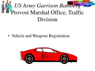 US Army Garrison Bamberg Provost Marshal Office
