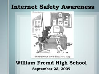 William Fremd High School September 23, 2009