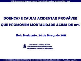 DOEN AS E CAUSAS ACIDENTAIS PROV VEIS QUE PROMOVEM MORTALIDADE ACIMA DE 10
