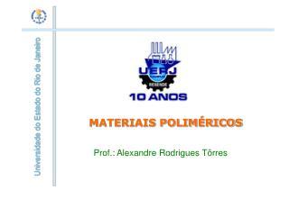 MATERIAIS POLIM RICOS