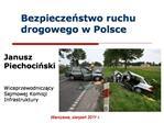 Bezpieczenstwo ruchu drogowego w Polsce