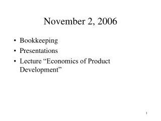 November 2, 2006