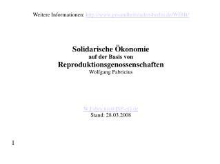 Weitere Informationen: gesundheitsladen-berlin.de