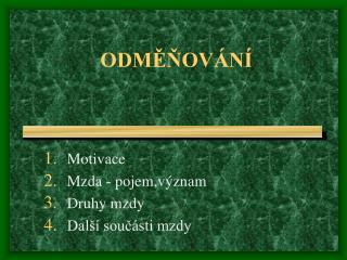 ODMENOV N