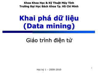Khai ph  d liu Data mining