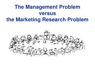 The Management Problem versus the Marketing Research Problem