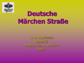 Deutsche  M rchen Stra e