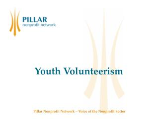 Youth Volunteerism Presentation