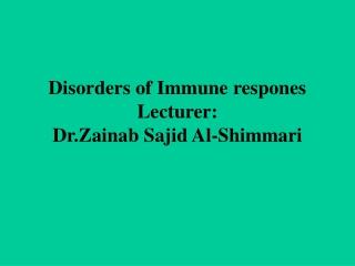 Immunopathology-2 Cell types