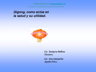 Lic. Yanipcia Balboa Navarro. Lic. Ana margarita  guila P rez