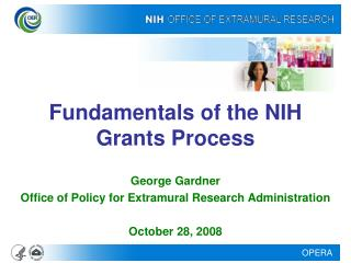 Fundamentals of the NIH Grants Process