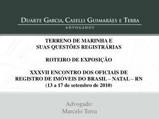 TERRENO DE MARINHA E  SUAS QUEST ES REGISTR RIAS   ROTEIRO DE EXPOSI  O    XXXVII ENCONTRO DOS OFICIAIS DE  REGISTRO DE