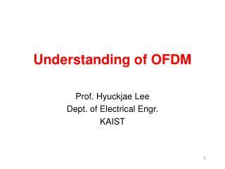 Understanding of OFDM