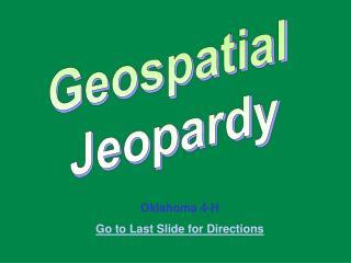 Geospatial  Jeopardy