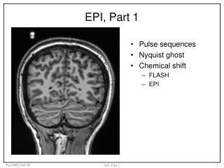 EPI, Part 1