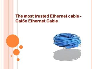 Cat5e Ethernet Cable
