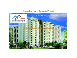 Dwarka Expressway Residential Projects