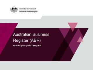 Government Financial Reporting - Australia