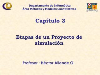 Profesor : H ctor Allende O.