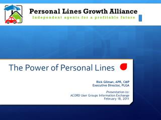 The Power of Personal Lines