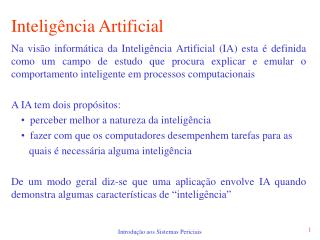 Intelig ncia Artificial