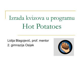 Izrada kvizova u programu Hot Potatoes