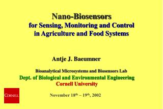 Bioanalytical Microsystems and Biosensors Lab