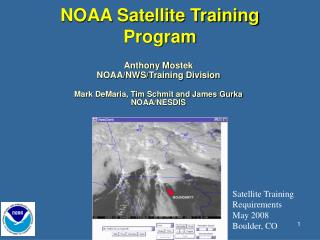 NOAA Satellite Training  Program
