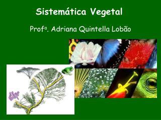 Sistem tica Vegetal