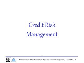 Credit Risk Management    .