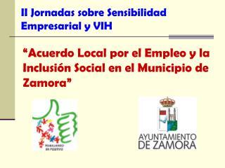 II Jornadas sobre Sensibilidad Empresarial y VIH